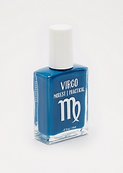 Virgo Navy Nail Polish