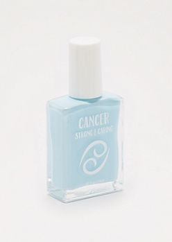 Cancer Pale Blue Nail Polish