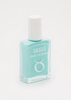 Taurus Light Green Nail Polish