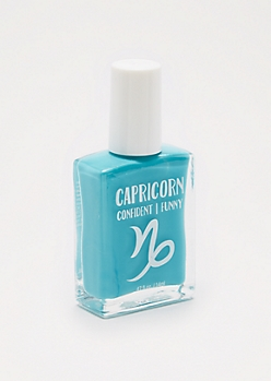 Capricorn Turquoise Nail Polish