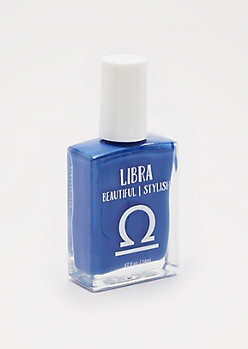 Libra Moonlight Blue Nail Polish