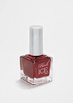 Red Pink Ice Nail Polish