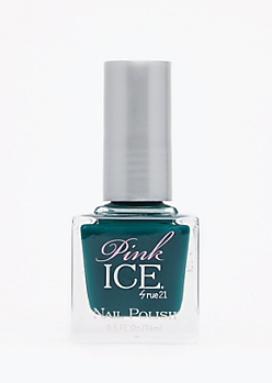 Emerald Pink Ice Nail Polish