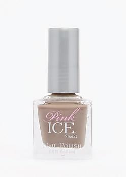 Taupe Pink Ice Nail Polish