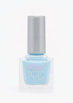 Light Blue Pink Ice Nail Polish