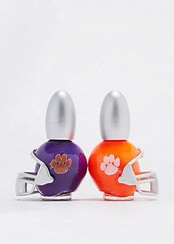 Clemson Tigers Game Day Nail Polish Duo
