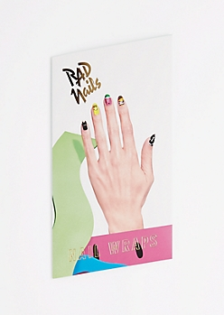 Lazy Oaf Nail Wraps by Rad Nails®