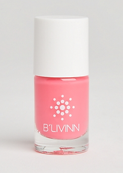 Hot Pink Nail Polish By B
