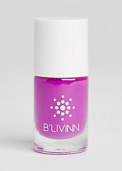 Neon Purple Nail Polish By B