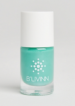 Aqua Green Nail Polish By B