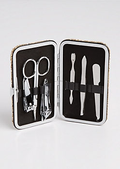 Glittering Manicure Travel Set