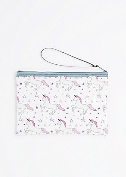 Unicorn Clear Makeup Bag