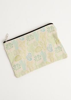 Desert Cactus Cosmetic Bag