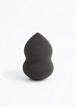 Black Contoured Blending Makeup Sponge
