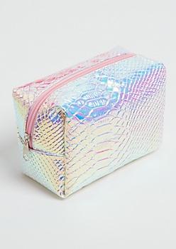 Iridescent Mermaid Cosmetic Bag