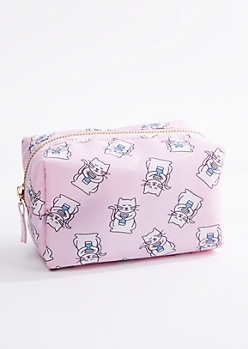 Kitty Makeup Bag