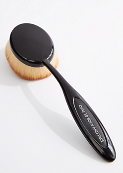 Oval 10 Body & Face Brush By Celavi