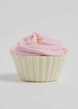 Strawberry Cream Cupcake Bath Fizz