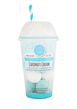 Coconut Cream Bath Fizzy Milkshake By Fizz & Bubble