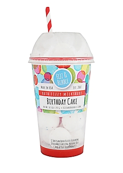 Birthday Cake Bath Fizzy Milkshake By Fizz & Bubble