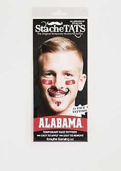 University of Alabama Temporary Face Tattoos