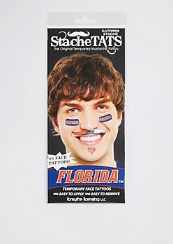 Florida Gators Temporary Face Tattoos