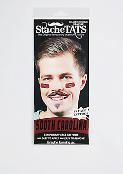 South Carolina Gamecocks Temporary Face Tattoos