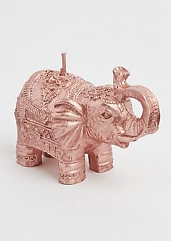 Boho Elephant Candle