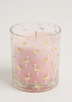 Foiled Flamingo Pineapple Sriracha Candle