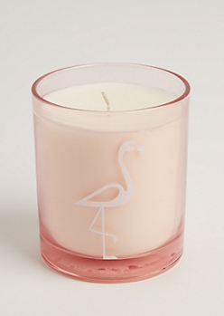 Pink Flamingo Pineapple Sriracha Candle