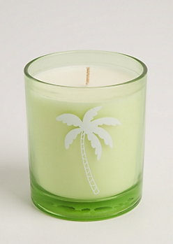 Palm Tree Coconut & Vanilla Candle