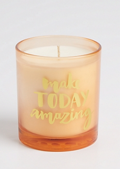 Make Today Amazing Beachgrass Candle
