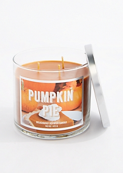 3-Wick Pumpkin Pie Scented Candle