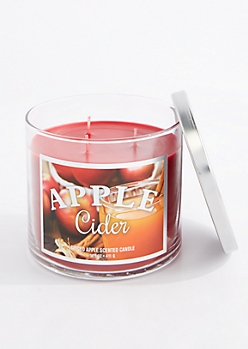 3-Wick Apple Cider Scented Candle