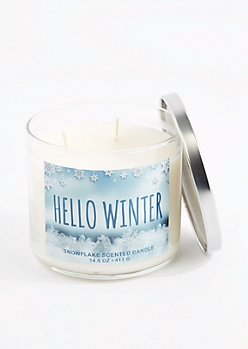 3-Wick Hello Winter Scented Candle