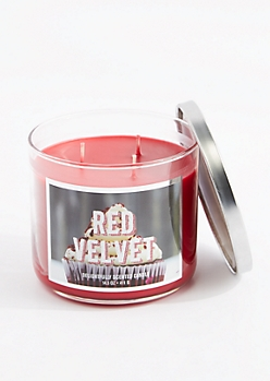 3-Wick Red Velvet Scented Candle