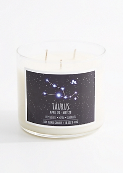 3-Wick Taurus Scented Candle