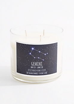 3-Wick Gemini Scented Candle