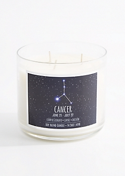 3-Wick Cancer Scented Candle