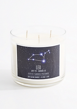 3-Wick Leo Scented Candle