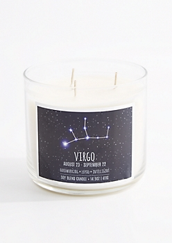 3-Wick Virgo Scented Candle