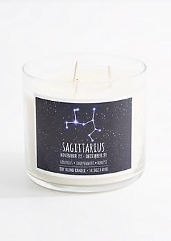 3-Wick Sagittarius Scented Candle