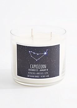 3-Wick Capricorn Scented Candle