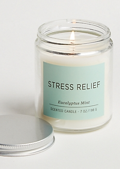 Stress Relief Eucalyptus Mint Candle