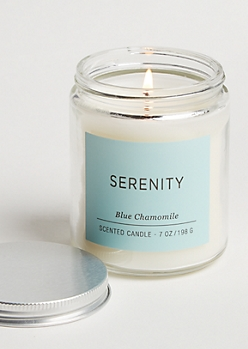 Serenity Blue Chamomile Candle
