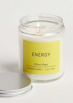 Energy Citrus Sage Candle