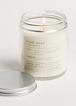 Kindness Green Tea Candle