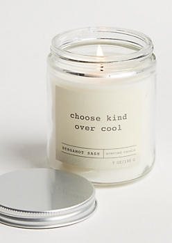 Choose Kind Bergamot Sage Candle