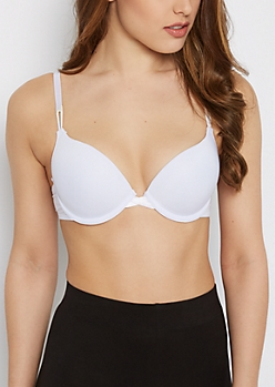 Essential Black Double-Push Up Bra