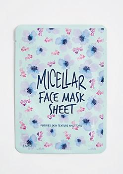 Green Micellar Face Mask Sheet by Jean Pierre